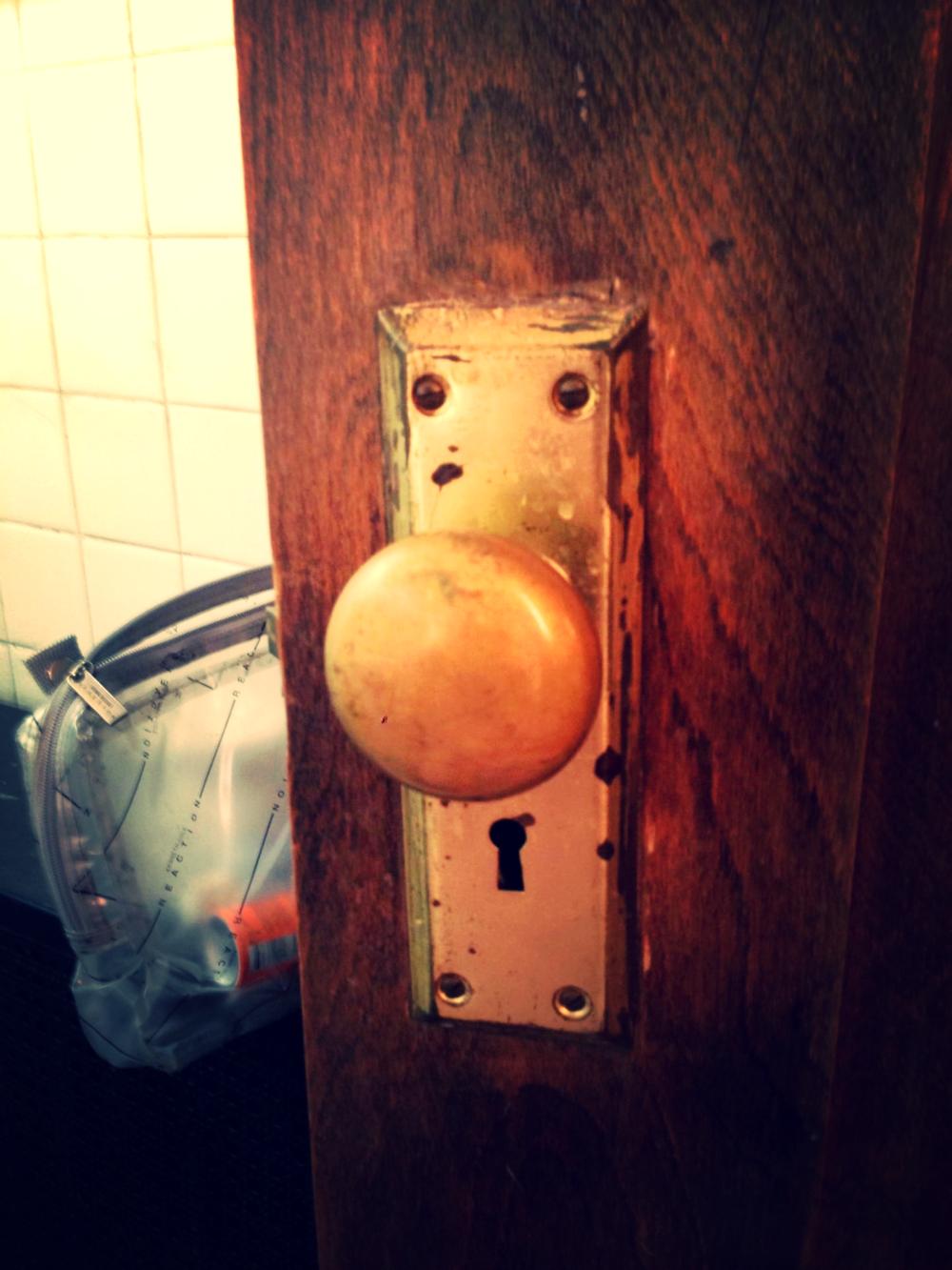 Door Knob Face, NY, NY