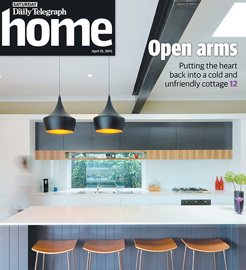 Wareemba house featured in home magazine