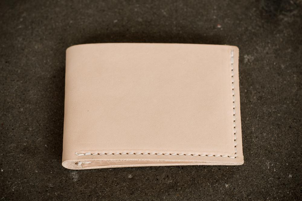Bi Fold Wallet | Veg Tan | $59