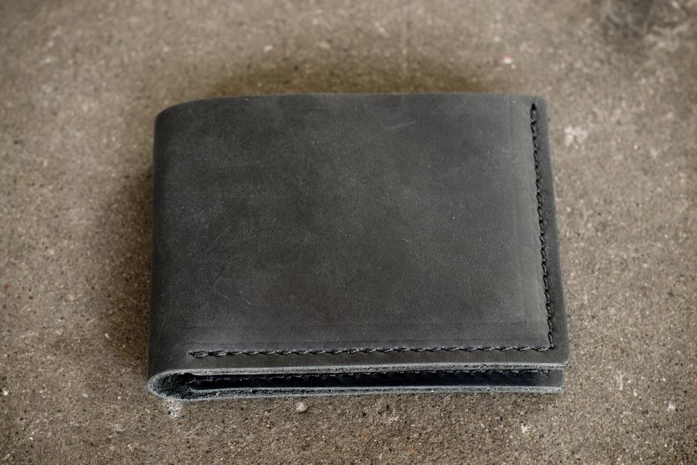 Bi Fold Wallet | Black | $59