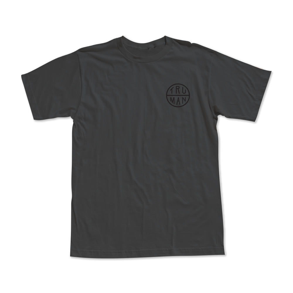 Lattice Tee | Charcoal Grey | $24