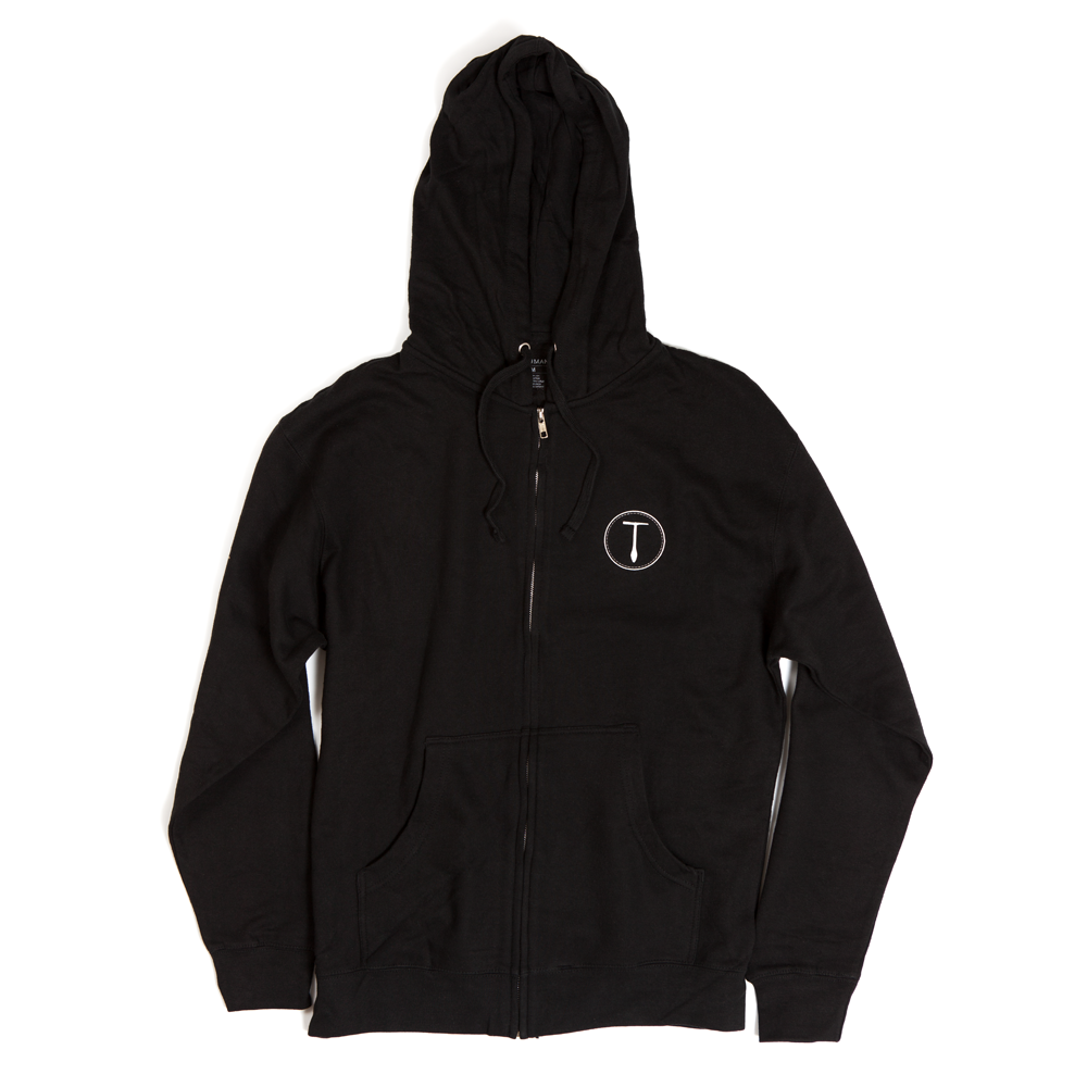 MYC Front Zip Fleece | Black | $49