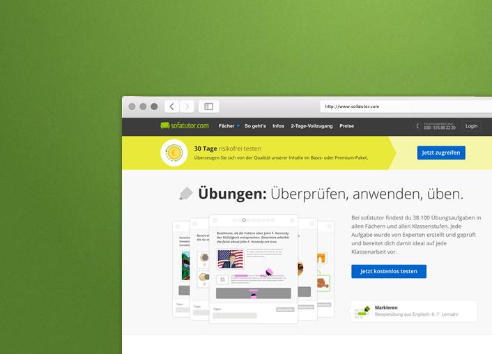 Sofatutor.com - UX/UI