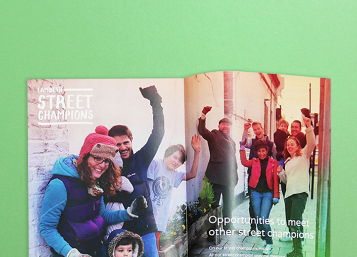 Street Champions - Service Design in Social Innovation | Client: Lambeth Council, UK.