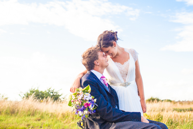Amelia and James' Countryside Wedding