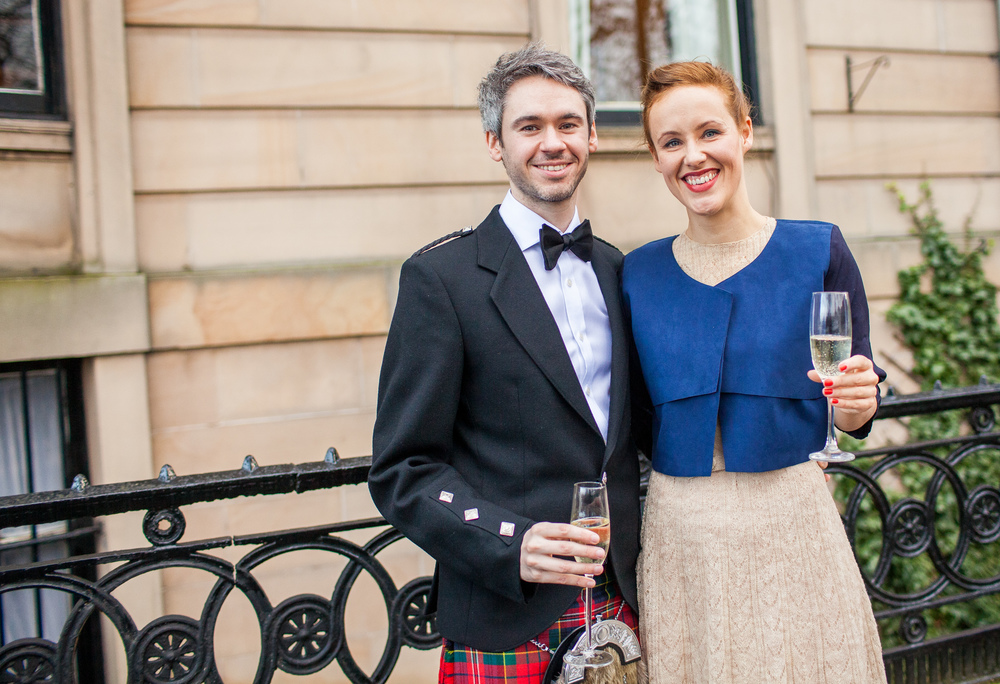 Chloe & MIchael, Glasgow
