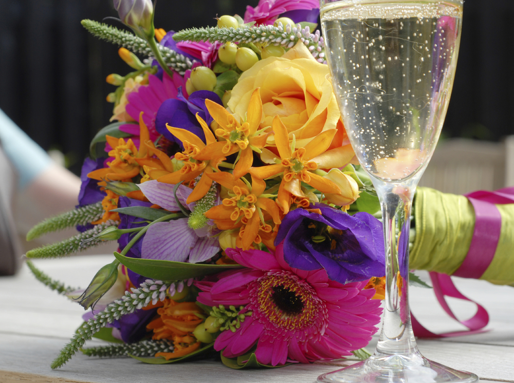 wedding bouquet at table istock.jpg