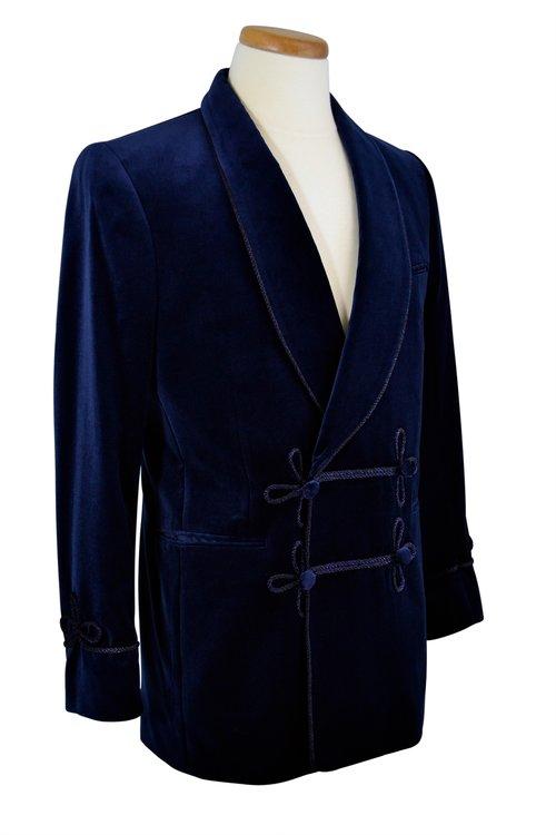 Velvet Smoking Jacket — C.D. Rigden   Son Country Classics 0d779f0705