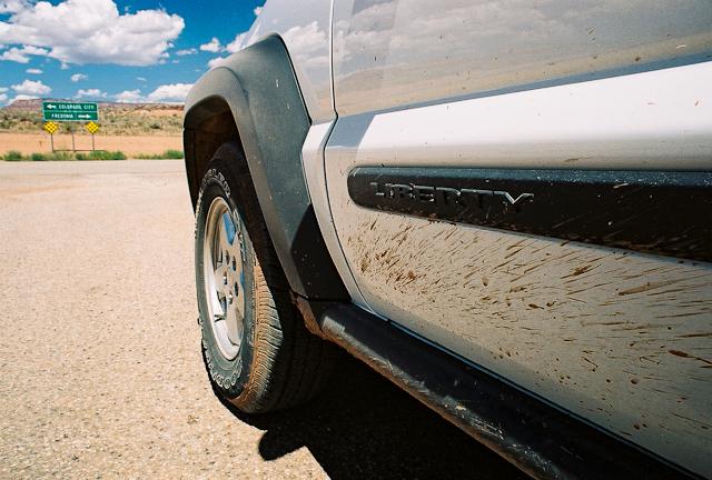 On the road, Kanab, Utah.
