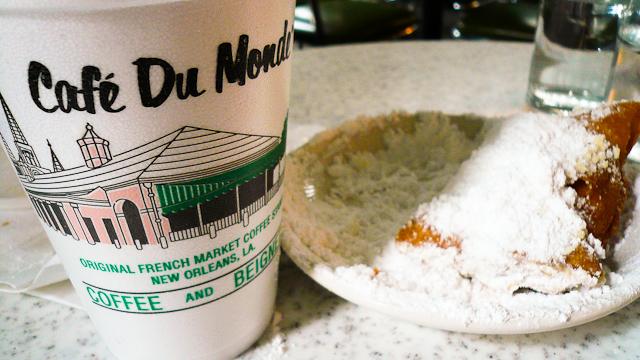 Coffee break in New Orleans.