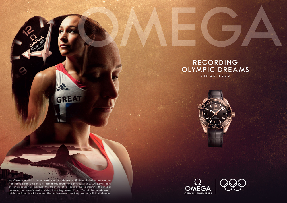 30158e1fc93 Omega Watches  Ad Campaign — Brandon Kidwell