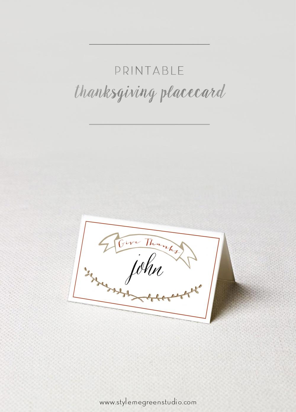 It's just an image of Free Printable Place Cards regarding menu
