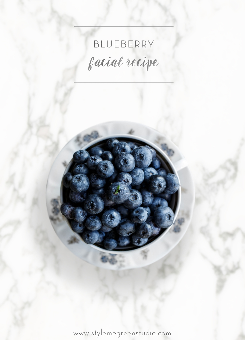 blueberry facial recipe