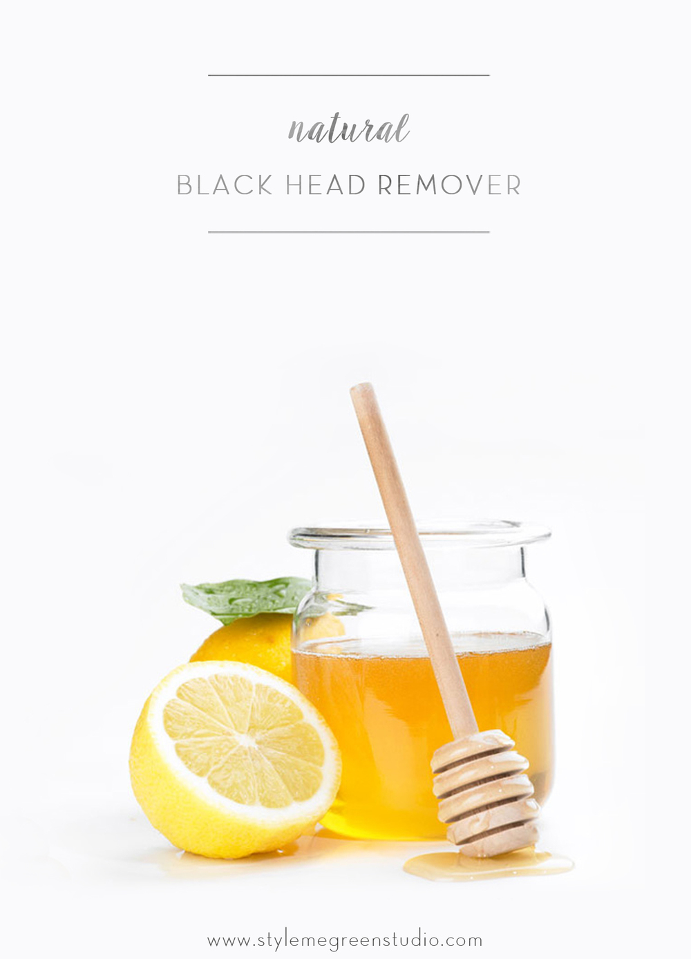 natural black head remover