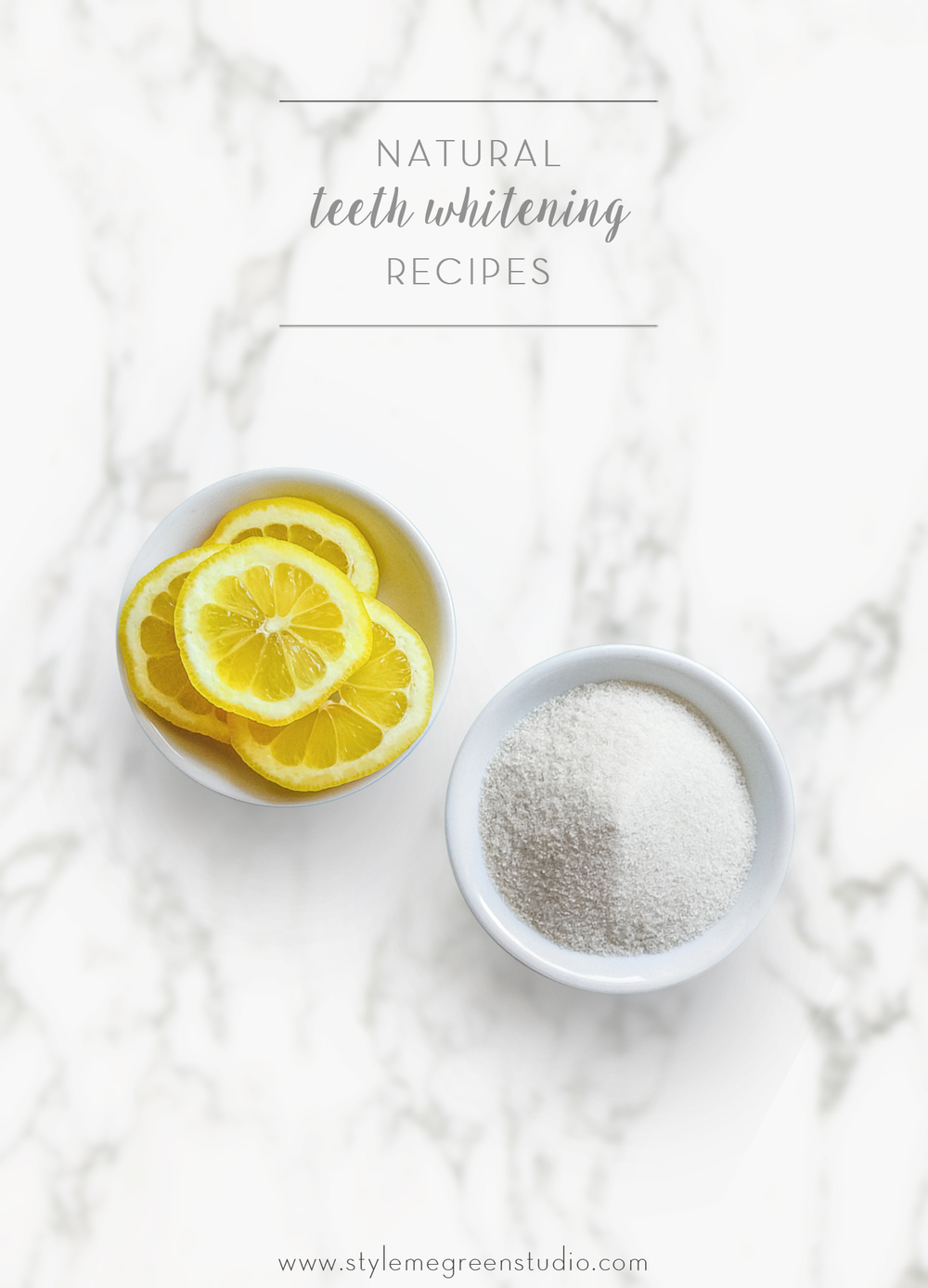 natural teeth whitening recipes