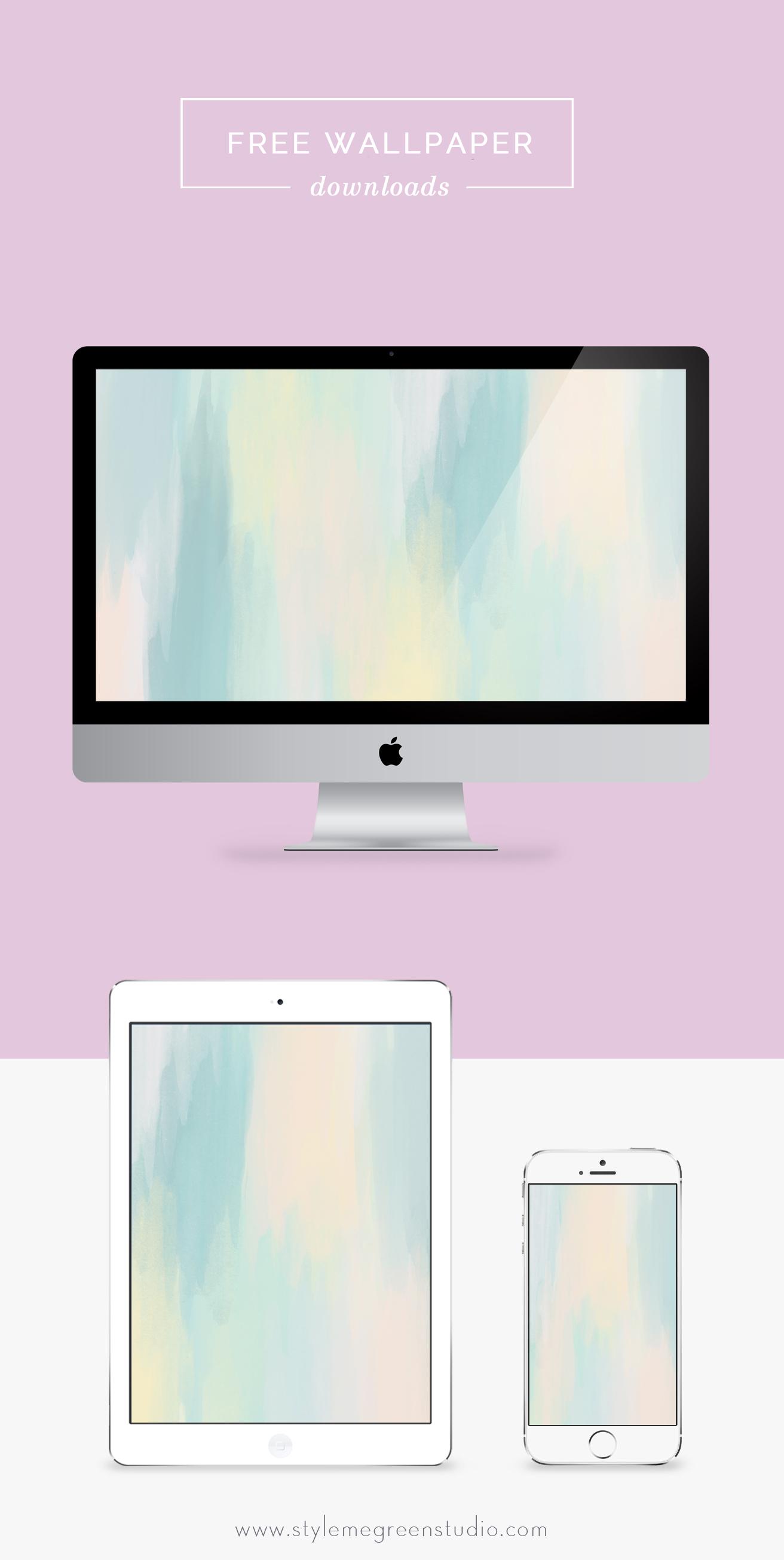 Free Desktop Wallpaper July 15 Style Me Green