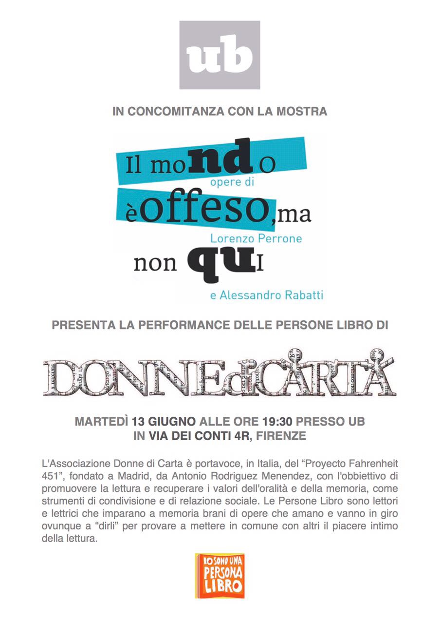 performance donne di carta persone libro