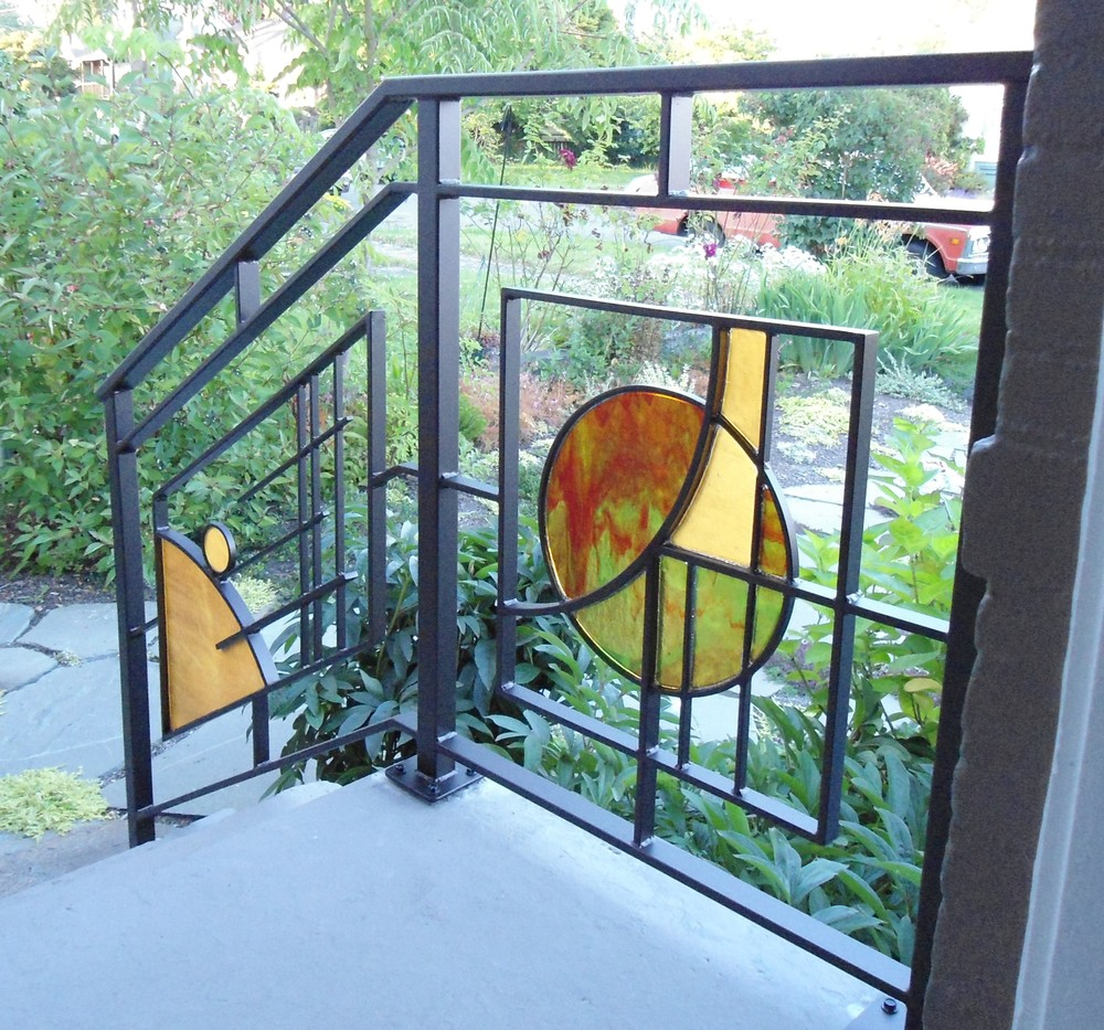 Modern Railing Planters Custom By Rushton: MOD Studio