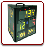 Edge SS-3300W Three Sided Score Clock