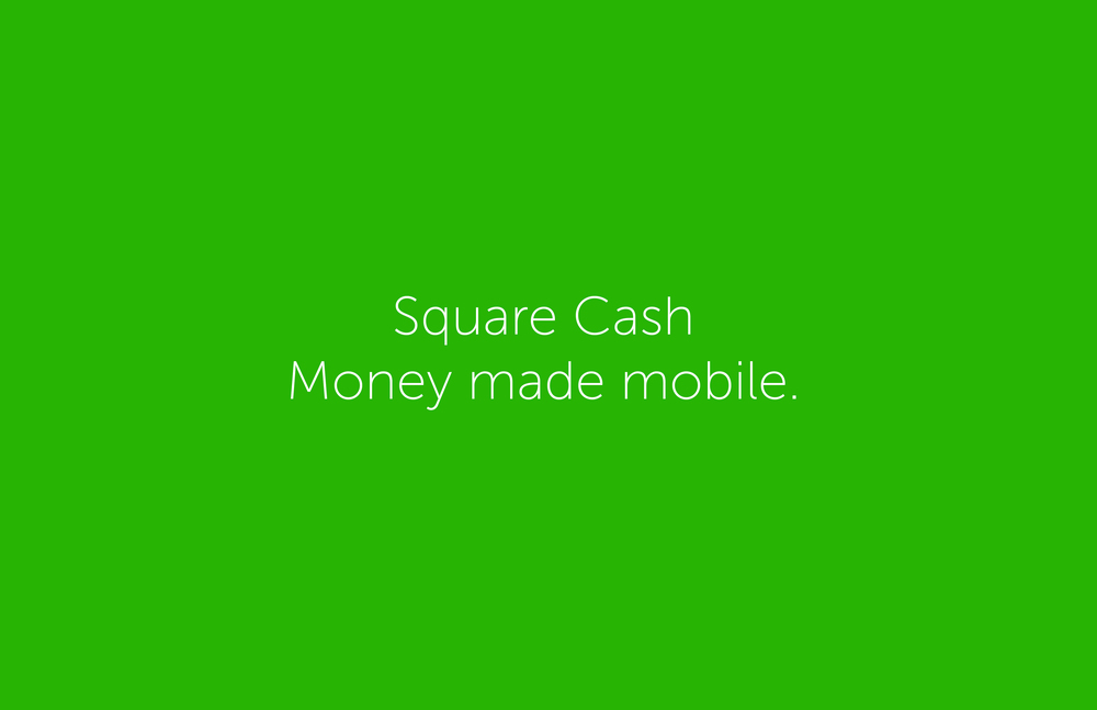 JANUARY: Square Cash