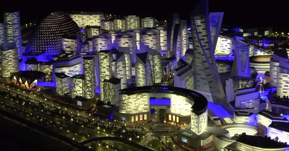 Dubai Mall of the World estimated to become the World's Biggest Mall.