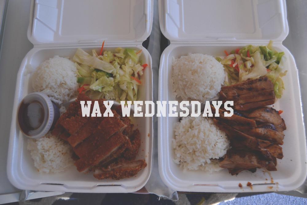 Wax Wed Title