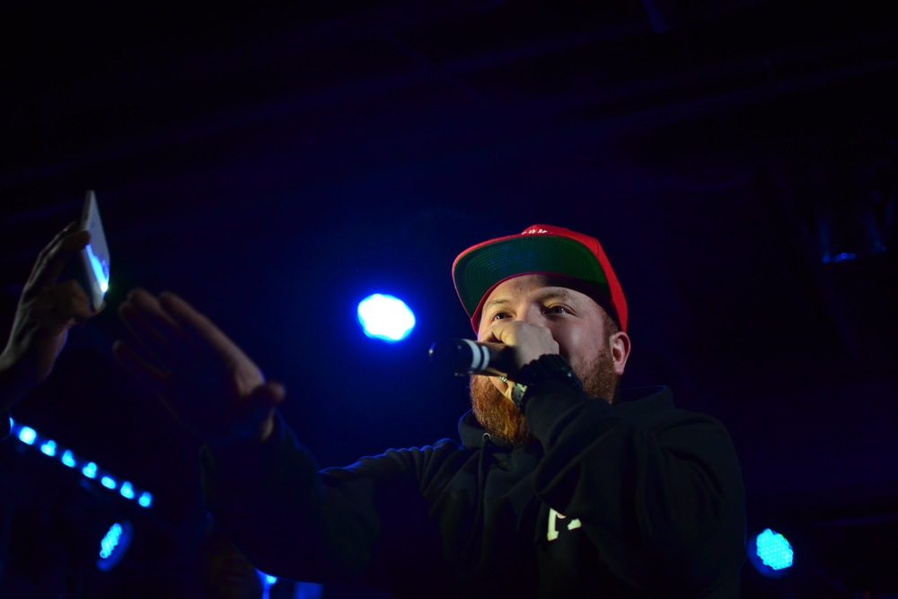 "Jay Barz performing ""This Side"" - @jaybarz"
