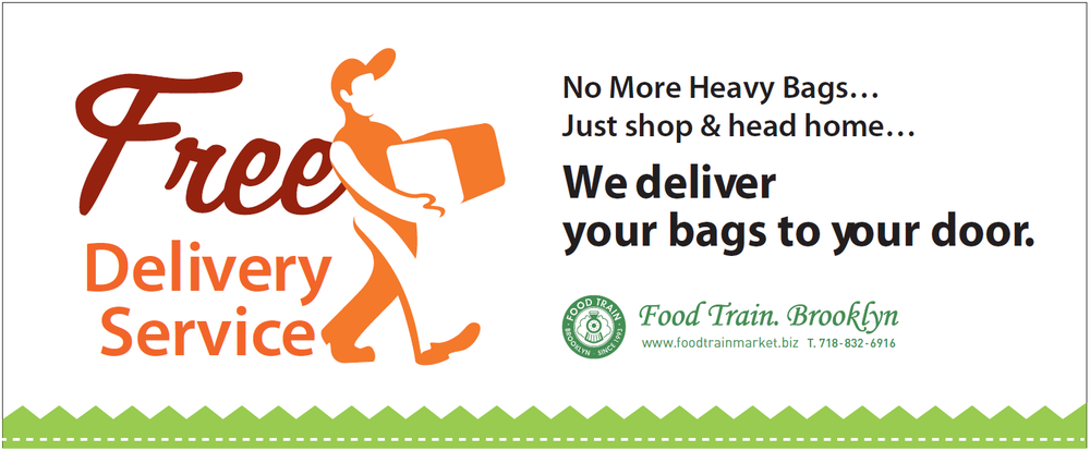 Heavy bags? We will deliver your bags to you.