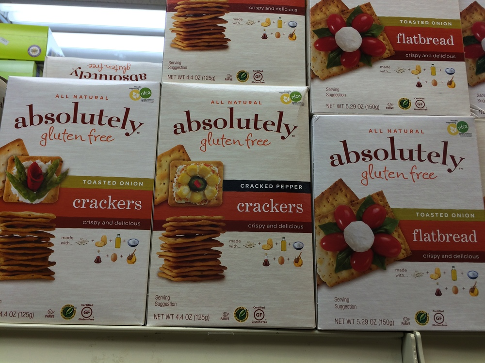 Absolutely Gluten Free Crackers