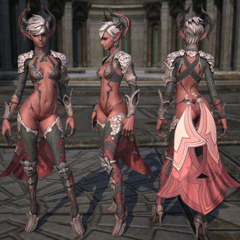 Tera's Castanic female armor. I hope we can all agree on this one.