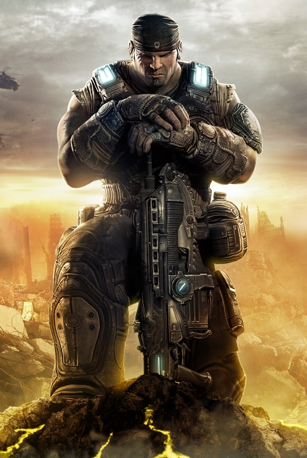 Marcus Fenix is one of the top male characters invoked for false equivalence.