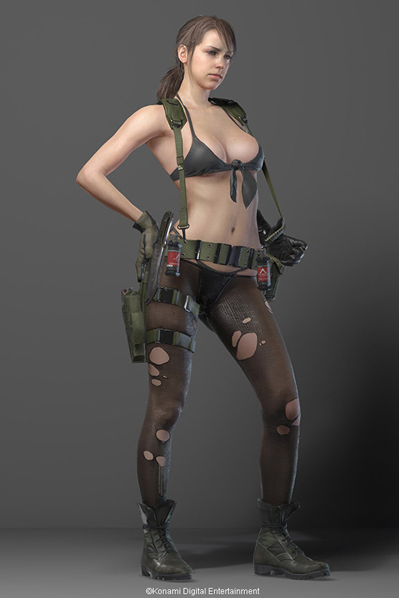 Kojima insists that we're all going to be sorry we said Quiet's outfit was inappropriate.