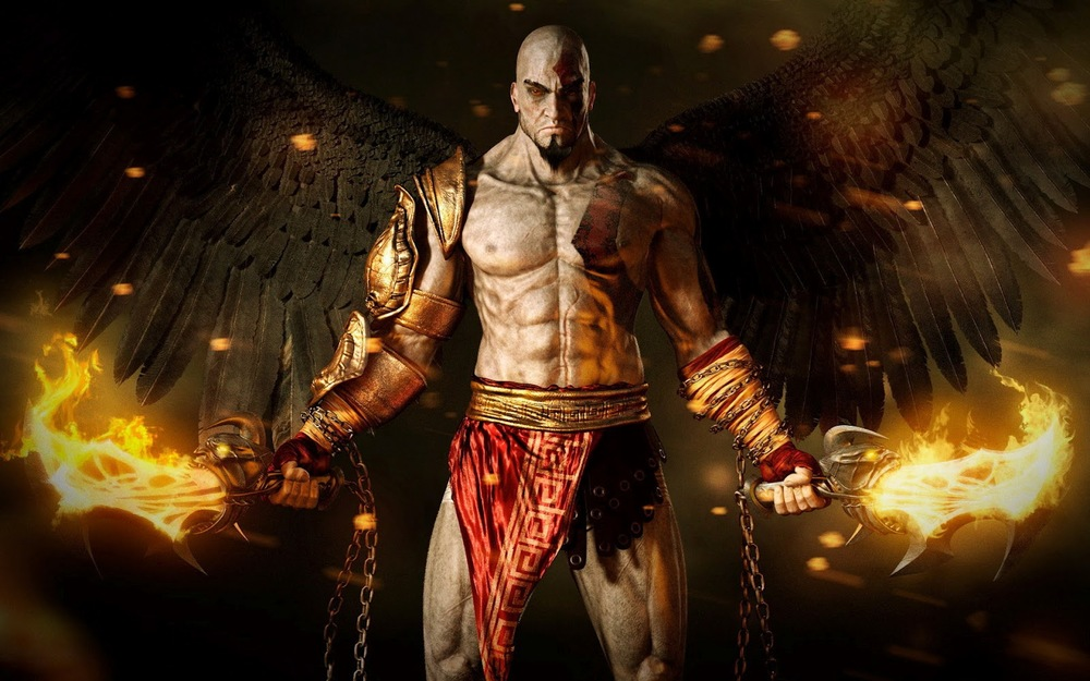So many straight men point me toward Kratos as a hypersexualized male character.