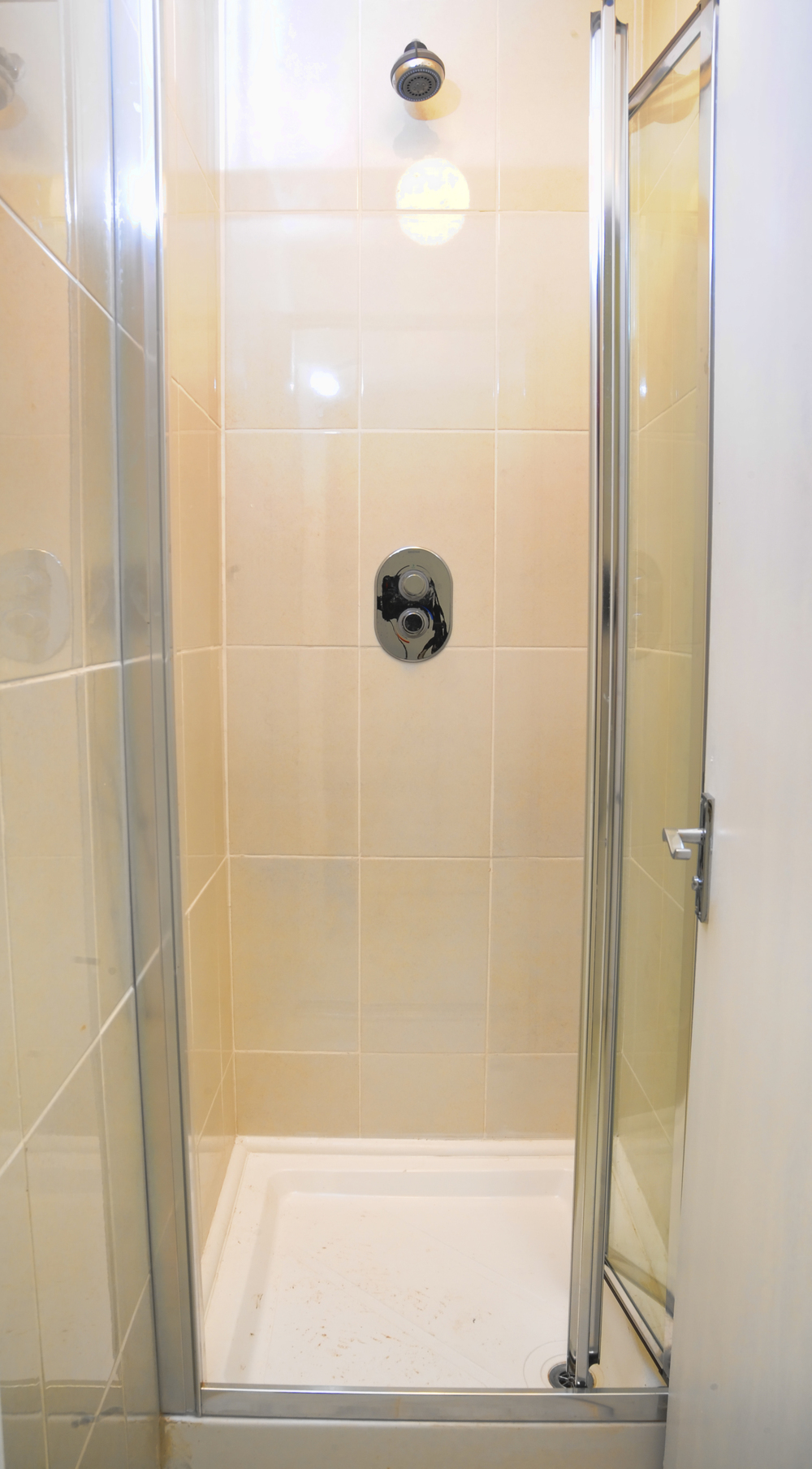 Our shower-rooms have temperature control and great water pressure and control.