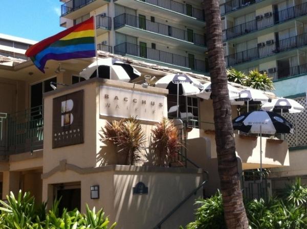 Bacchus Waikiki, August 2011