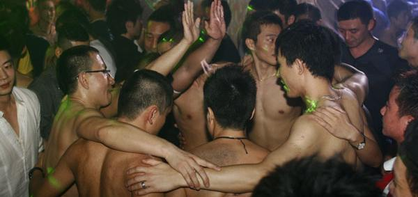 photo from shanghai gay bar