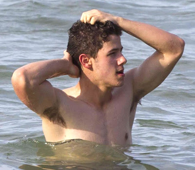 Picture About Nick Jonas Shirtless in the Beach2.jpg