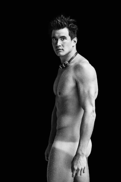 Nathan Adrian is six foot, six inches and 225 lbs. of beauty!