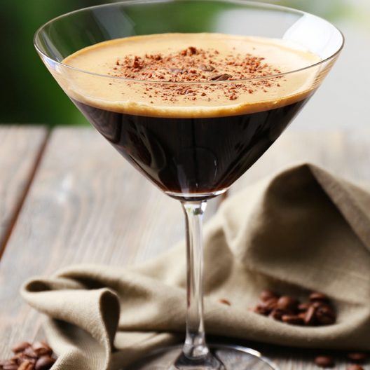 Cold Brew Martini - Absolut Vodka with Cold Brew Coffee