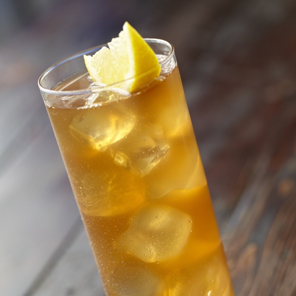 John Daly - Iced Tea with vodka, sour & 7Up