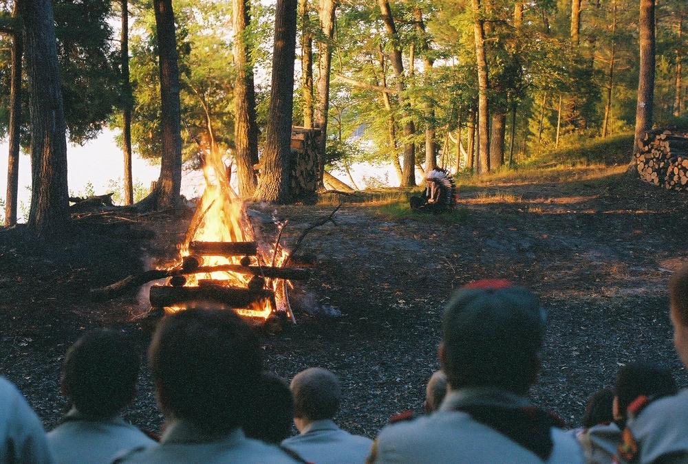 Vintage Camp Blackhawk Campfire
