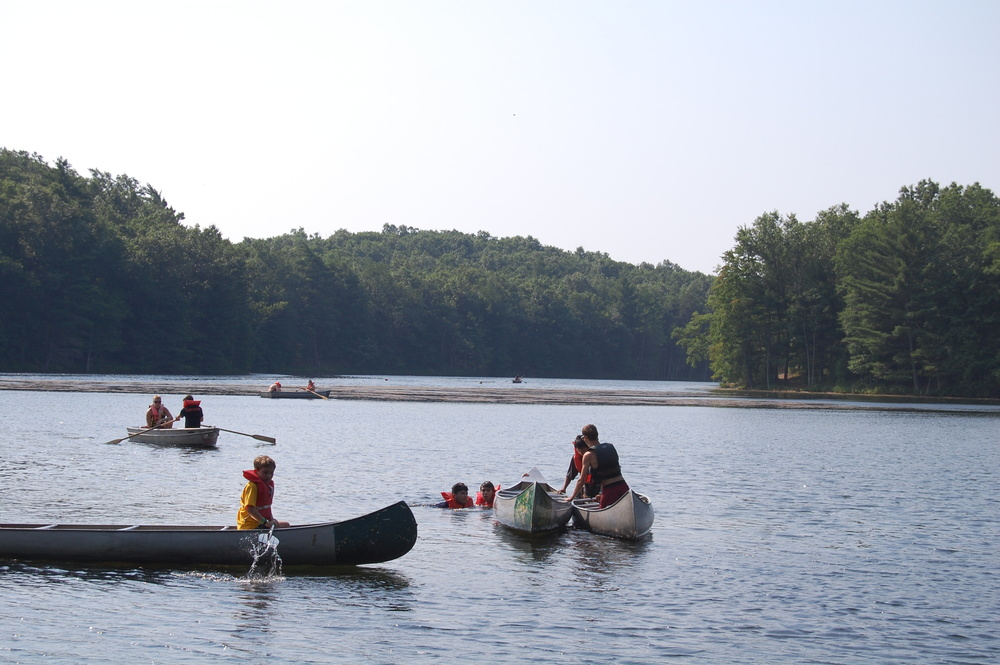Canoeing Merit Badge on Wolverine Lake