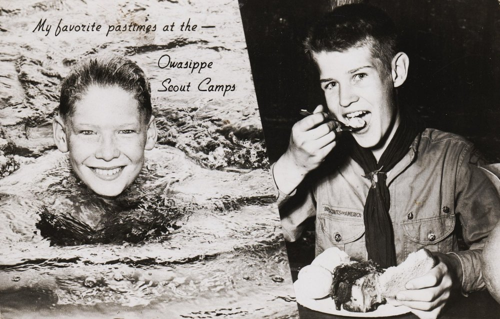 Owasipe Postcard circa 1950
