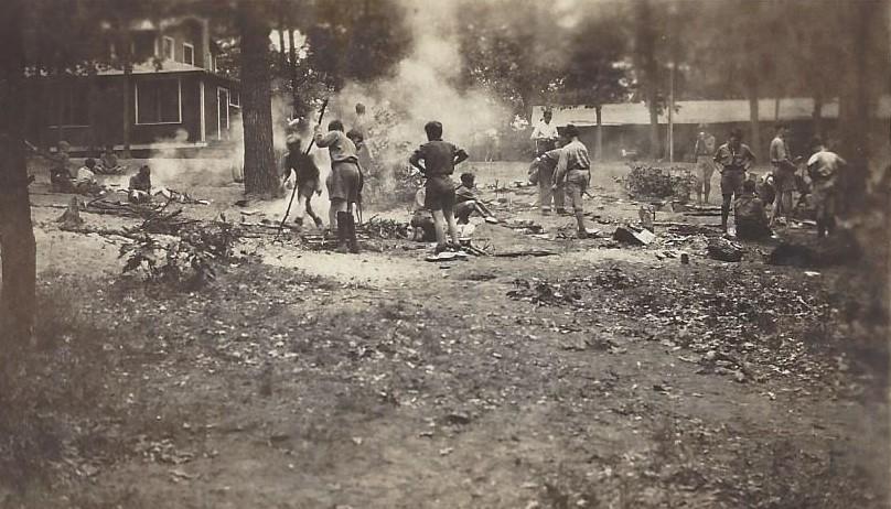 Clearing Brush Circa 1925 (Possibly Checaugau)
