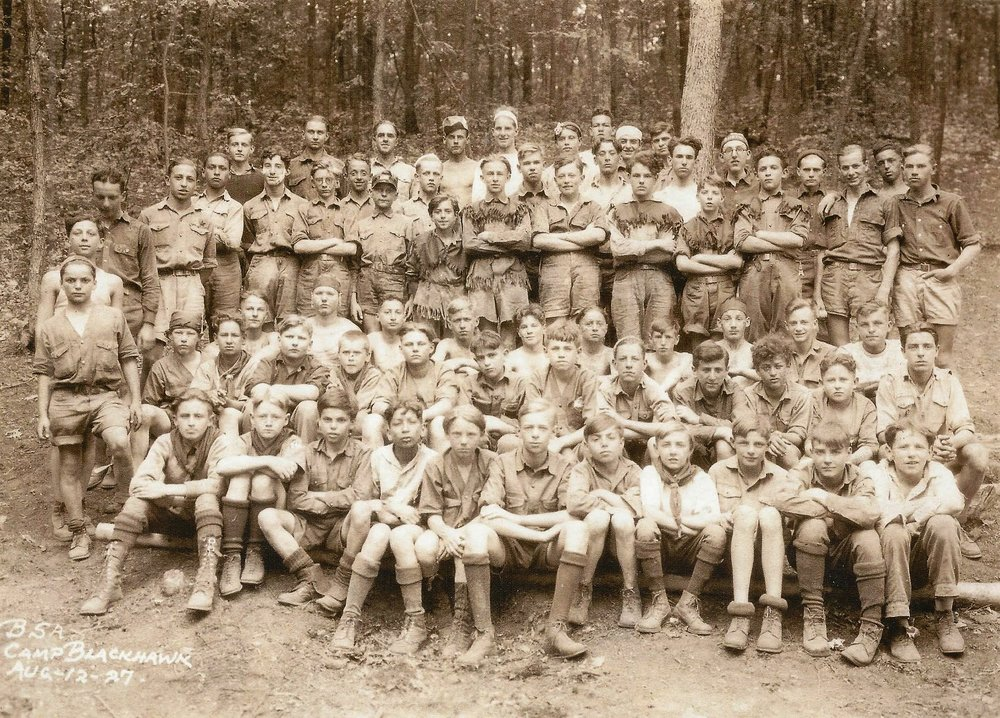 Camp Blackhawk 1927