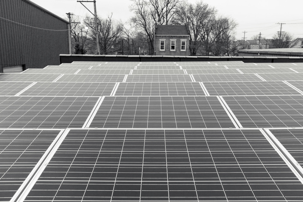 Better Life's manufacturing plant is powered by a 50 kW solar system installed on the rooftops of their North St. Louis manufacturing plant.