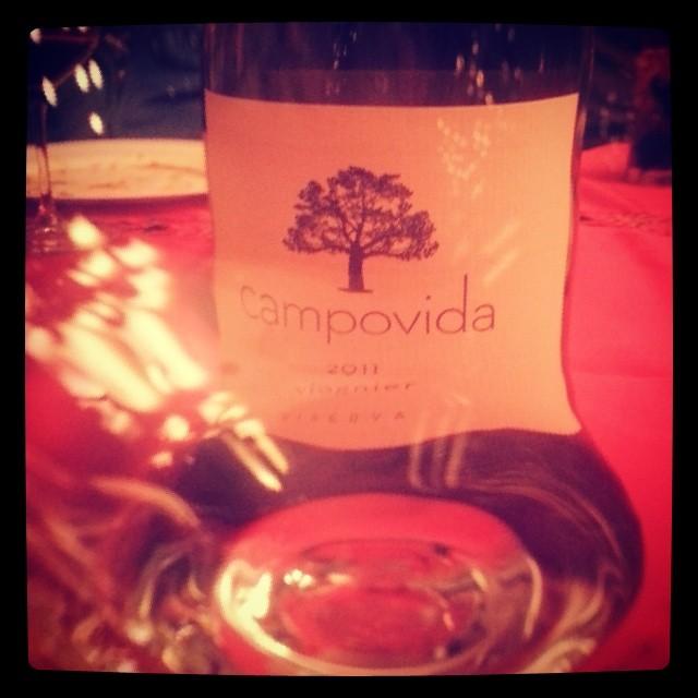 Mom saved some wedding wine from #campovida