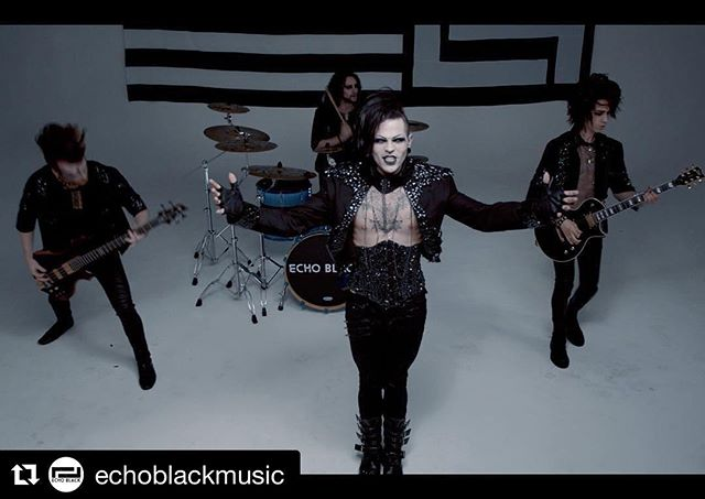 #Repost @echoblackmusic ・・・ Our new music video is live on @axsevents!! Link is in our bio! Watch, share, comment! We love you guys!  #echoblack #musicvideo #goth #glam #popmusic #dawn #dannyblu #newmusic #alt #alternative #altboy #alternativeboy #altmodel #alternativemodel #tattooedmen #guyswithtattoos #newsingle #emvymusic #silkcitygrooves #recording #recordingstudio #producer #audioproduction