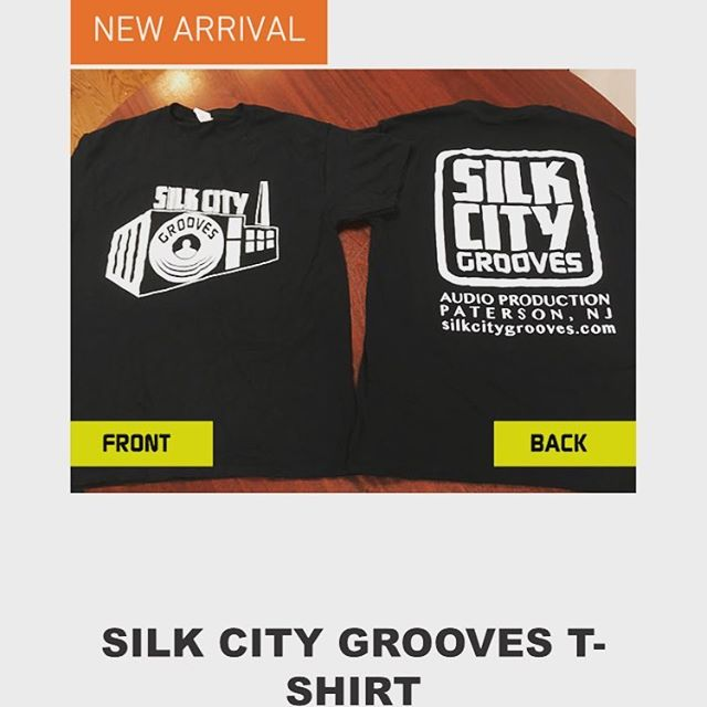 Be sure to visit our website for some #silkcitygrooves swag! 🤙🏻 #merch #swag #shop #shirts #stickers #moretocome #recordingstudio
