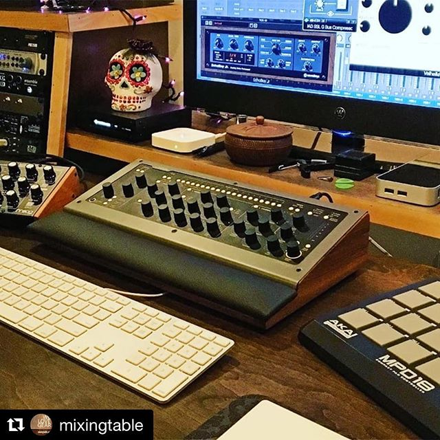 """#Repost @mixingtable ・・・ """"Thank you very much for your fantastic job and craftsmanship"""" @silk_city_grooves  Thanks for your feedback @walterkazmier we appreciate it ❤ Glad you're enjoying your #console1 Lux.  #softube #producer #mixengineer #homestudio #prostudio #cubase #logicx #protools #mixingtable"""